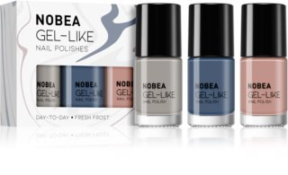 NOBEA Day-to-Day Set mit Nagellacken Fresh Frost Farbton
