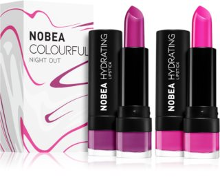 NOBEA Colourful Lipstick Set 2 x 4,5 g