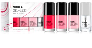 NOBEA Day-to-Day nail polish set Ultimate Lemonade