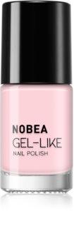 NOBEA Day-to-Day lak na nehty s gelovým efektem