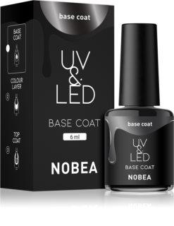 NOBEA UV & LED gelový lak na nehty s použitím UV/LED lampy