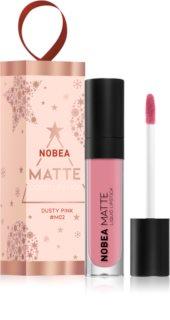 NOBEA Festive matowa szminka