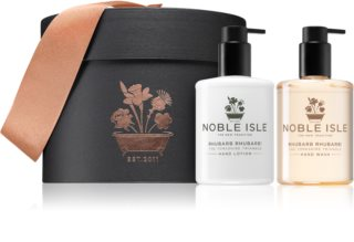 Noble Isle Rhubarb Rhubarb! Gift Set  (voor de Handen )