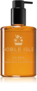 Noble Isle Tea Rose gel de ducha y baño