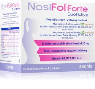 Nosifol Forte DuoActive  doplněk stravy pro podporu plodnosti pro ženy i muže