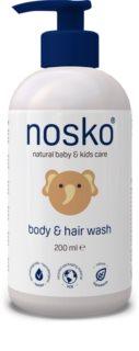 Nosko Baby Body & Hair Wash mycí gel na tělo a vlasy pro děti