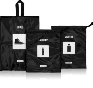 Notino Travel Collection Travel ensemble de sacs de voyage pour chaussures & linge & liquides