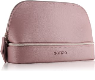 Notino Glamour Collection Double Make-up Bag neceser con dos compartimentos
