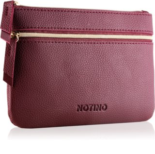 Notino Glamour Collection Flat Double Pouch torbica z dvema predeloma