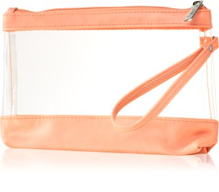 Notino Basic Transparent Makeup Bag för resa