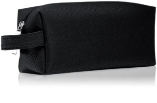 Notino Basic Men's cosmetic bag, small Black