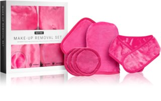 Notino Spa kit de démaquillage en microfibre Pink