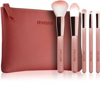 Notino Joy Collection set di pennelli da viaggio con trousse