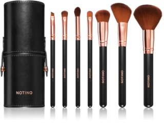 Notino Luxe Collection Make-up Brush Set with Pouch II.