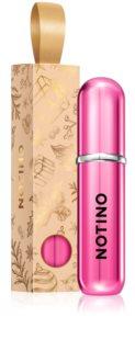 Notino Travel nachfüllbarer flakon mit zerstäuber limitierte Edition Hot Pink