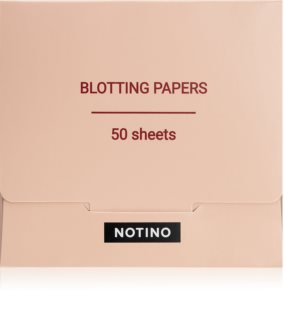 Notino Glamour Collection Blotting Papers salviette opacizzanti