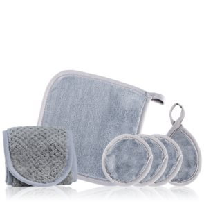 Notino Spa microfibre make-up removal set Grey