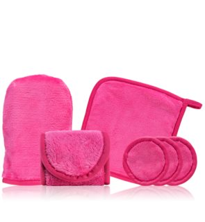 Notino Spa microfiber makeup remover set Pink