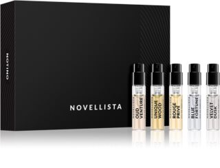 Beauty Discovery Box Notino Introduction to NOVELLISTA Perfumes Set II. Unisex