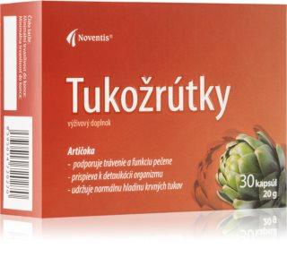 Noventis Tukožroutky doplněk stravy pro správné trávení a zachování zdravé hladiny tuků v krvi
