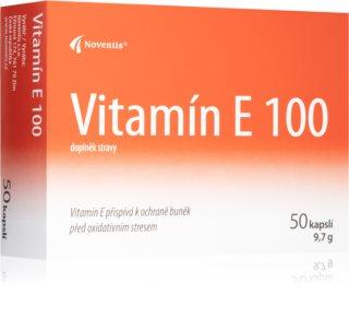 Noventis Vitamín E 100 ochrana před oxidativním stresem