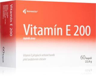 Noventis Vitamín E 200 doplněk stravy pro regeneraci organismu, silný antioxidant