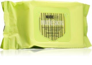 Nudestix Nudeskin chusteczki oczyszczające z ekstraktem z bambusa