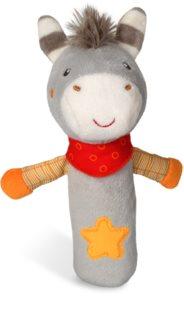 NUK Happy Farm soft squeaky toy 3m+ Donkey