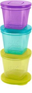 NUK Food Pots τάπερ για σνακ για παιδιά