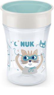 NUK Magic Cup κύπελλο με καπάκι 8m+ Green