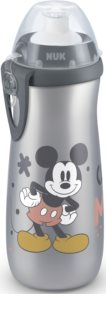NUK First Choice Mickey Mouse дитяча пляшечка 36m+ Grey