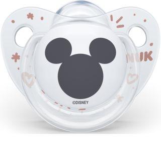 NUK Trendline Mickey Mouse 0-6 m Schnuller White