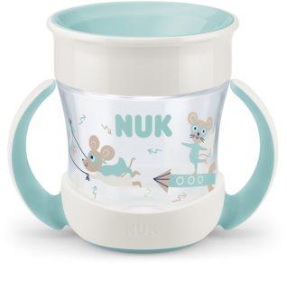 NUK Magic Cup Mini κύπελλο με λαβές 6m+ Green