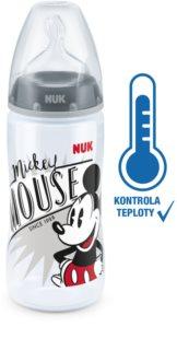 NUK First Choice Mickey Mouse biberon pentru sugari 6m+ Grey
