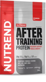 Nutrend After training protein syrovátkový protein v prášku  strawberry