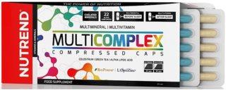 Nutrend MULTICOMPLEX COMPRESSED CAPS komplex minerálů a vitamínů