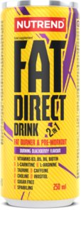 Nutrend Fat Direct drink hotový nápoj pro podporu spalování tuků  blackberry