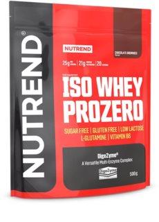 Nutrend ISO WHEY PROZERO protein v prášku příchuť chocolate brownies
