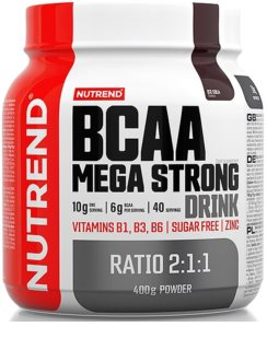 Nutrend BCAA MEGA STRONG DRINK regenerace a růst svalů  cola