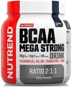 Nutrend BCAA MEGA STRONG DRINK regenerace a růst svalů  black currant