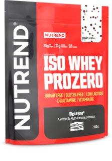 Nutrend ISO WHEY PROZERO protein v prášku příchuť cookies & cream