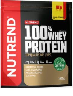 Nutrend 100% WHEY PROTEIN syrovátkový protein v prášku  banana & strawberry