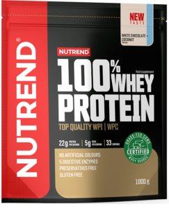 Nutrend 100% WHEY PROTEIN syrovátkový protein v prášku příchuť white chocolate coconut
