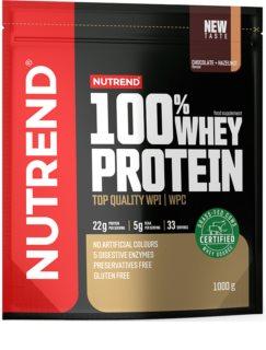 Nutrend 100% WHEY PROTEIN syrovátkový protein v prášku příchuť chocolate hazelnut