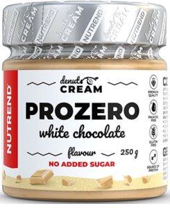 Nutrend DENUTS Cream prozero s bílou čokoládou ořechová pomazánka s nízkým obsahem cukru