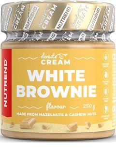 Nutrend DENUTS Cream white brownie ořechová pomazánka