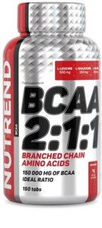 Nutrend BCAA 2:1:1 Tabs regenerace a růst svalů