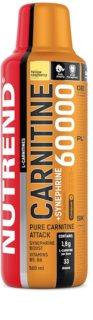 Nutrend Carnitine 60 000 + Synephrine spalovač tuků  yellow raspberry