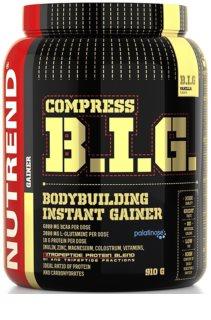 Nutrend COMPRESS B.I.G. podpora růstu svalů  vanilla