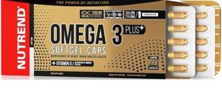 Nutrend Omega 3 Plus  softgel caps doplněk stravy  pro normální činnost nervové soustavy